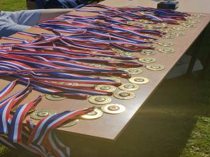 football tournament medals