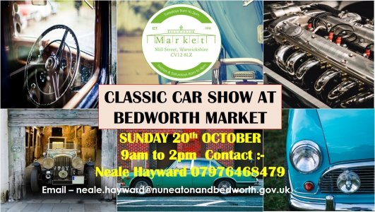 Bedworth Classic car show