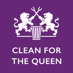 Clean for the Queen square