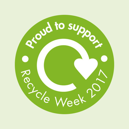Proud to support Recycle Week 2017