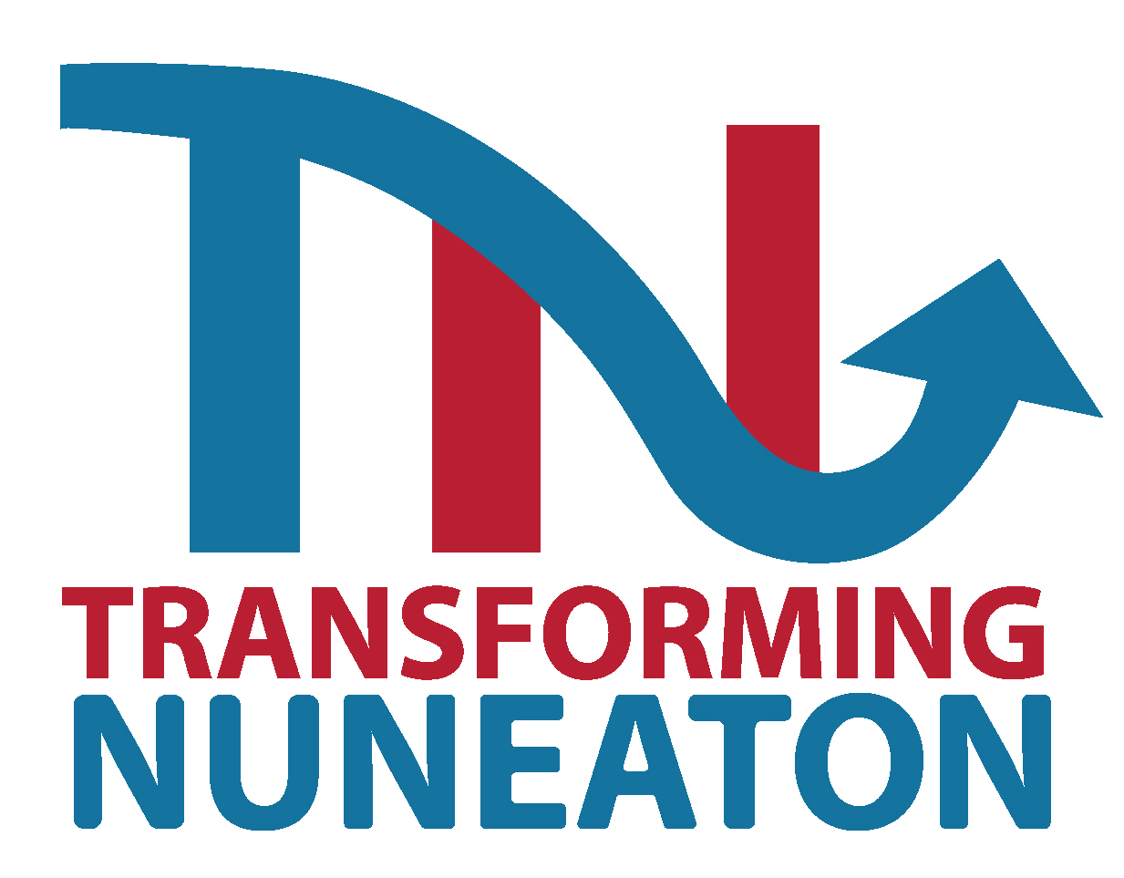 Transforming nuneaton logo