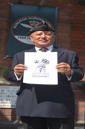 Om Gurring - British Gurkha Veteran association (BGVA)