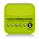 food hygiene rating scores on the doors