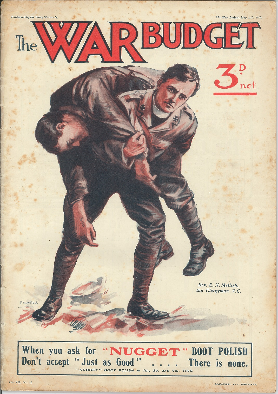 soldiers in the war, war budget poster