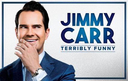 jimmy carr show advert