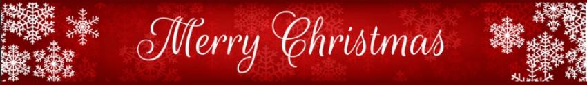 decorative christmas banner